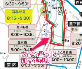 マラソン経路2